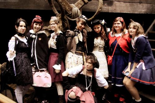 "Gruppo Lolita in stile ""pirata"" - Sybelle Photography"