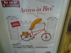 Schiavoni in bici