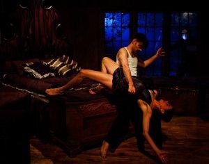 Macbeth e Lady Macbeth in scena. Ma non quelli che ho visto io. Ph by Yaniv Schulman