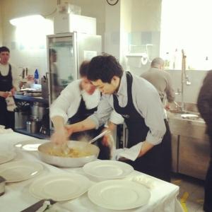 The Doctor is IN. Yoji Tokuyoshi, resident chef di Postrivoro, fa il secondo di Giuseppe Di Martino